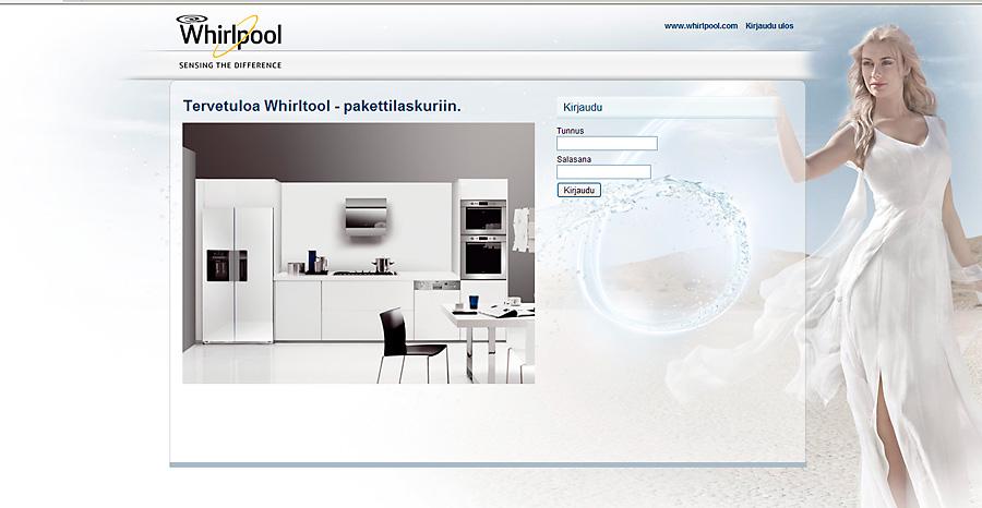 Whirlpool pakettilaskuri